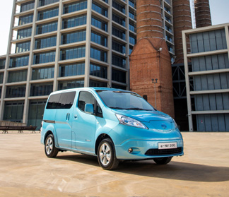 電気商用車「e-NV200」