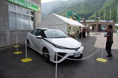 トヨタ FCV「未来」