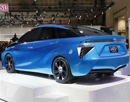トヨタ燃料電池車FCV「MIRAI」