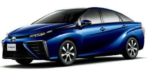 燃料電池車「FCV-MIRAI(ミライ)」