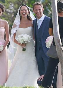 バトンとジェシカの結婚式