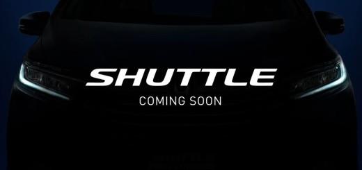 新型コンパクトワゴン「SHUTTLE(シャトル)」