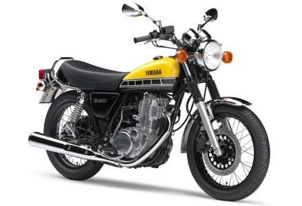 ヤマハ発動機創業60周年記念カラーモデル 「SR400」60th Anniversary