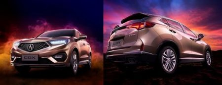 Acura新型SUV「CDX」