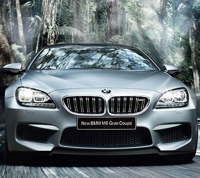 ニュー BMW M6 グラン クーペ
