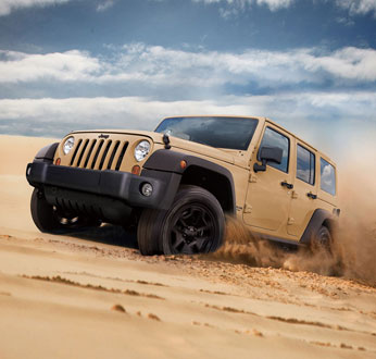 Jeep Wrangler Unlimited Trail Edition II