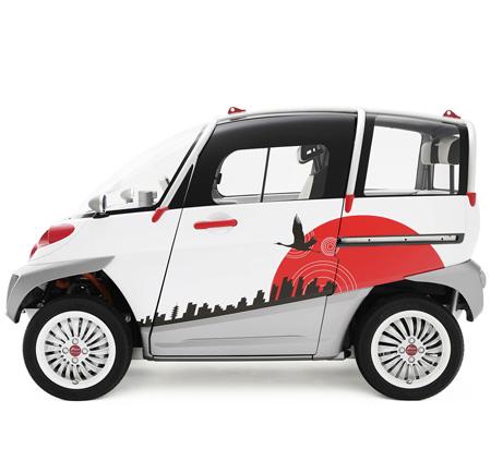 小型電気自動車(EV)「フォム コンセプト ワン」