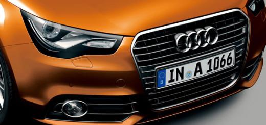 "Audi A1 Sportback color selection-""Samoa Orange"""
