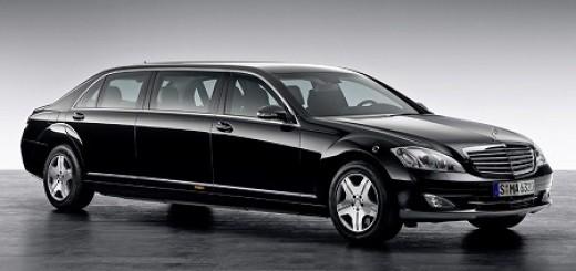 高級車部門メルセデス・ベンツの新型6人乗りリムジン「プルマン」